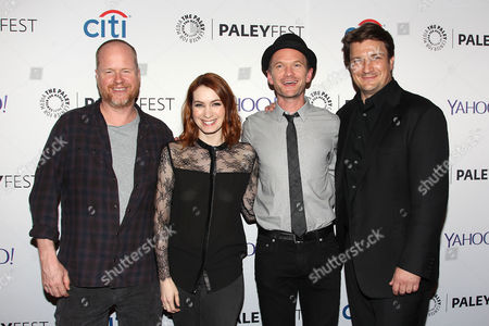 Joss Whedon, Felicia Day, Neil Patrick Harris and Nathan Fillion
