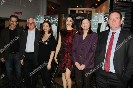 Ed Arentz, Terence Davies, Florence Almozini, Rachel Weisz, Karen Brooks Hopkins and Sean O'Connor