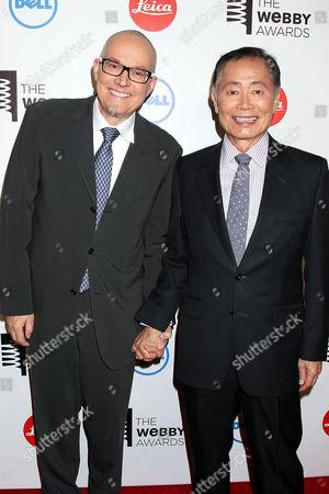 Brad Altman and George Takei