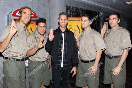 Christopher B Landon with Scouts Landon
