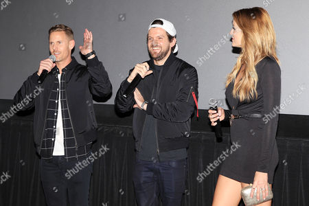 Christopher B Landon, Dillon Francis and Sarah Dumont