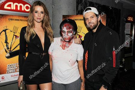 Sarah Dumont, Zombie Fan and Dillon Francis