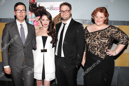 Editorial image of 'For a Good Time, Call...' film screening in New York, America - 21 Aug 2012