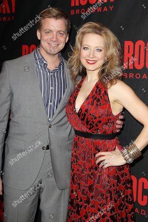 Stock Photo of Chris Henry Coffey and Jennifer Mudge