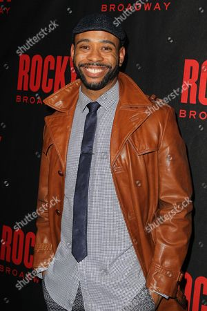 Editorial photo of 'Rocky' play opening night, New York, America - 13 Mar 2014