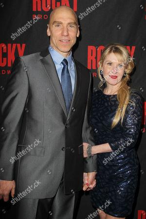 Editorial image of 'Rocky' play opening night, New York, America - 13 Mar 2014