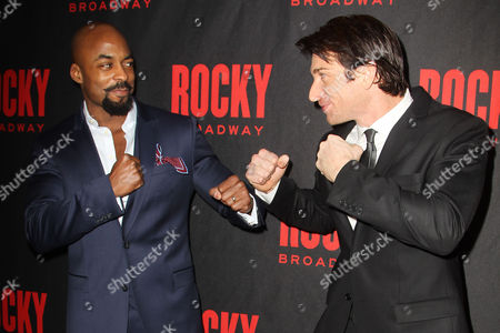 Terence Archie and Andy Karl