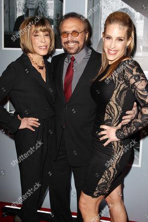 Stock Photo of Cynthia Weil, Barry Mann and Dr. Jenn Berman