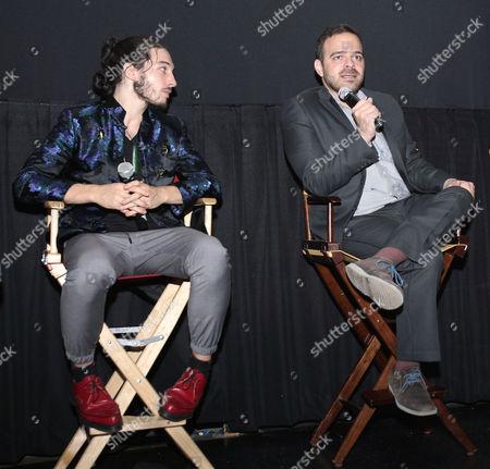 Ezra Miller and Kyle Patrick Alvarez (Director)