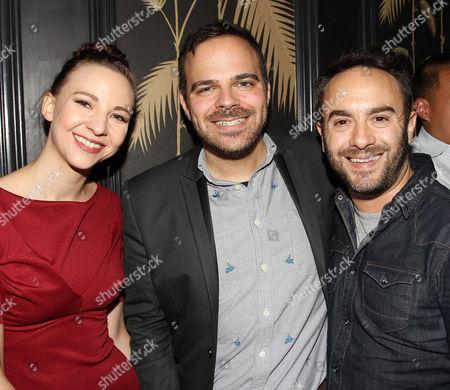 Erin Darke, Kyle Patrick Alvarez (Director) and John Krokidas