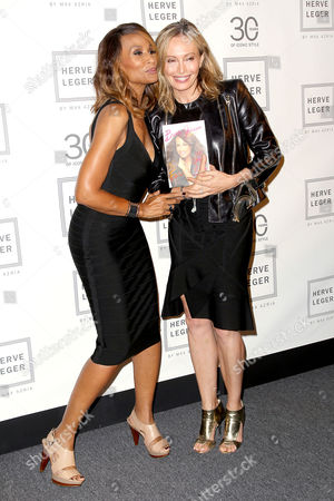 Beverly Johnson and Lubov Azria