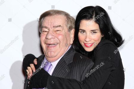 Freddie Roman and Sarah Silverman