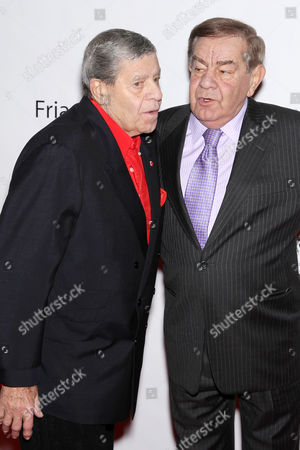 Jerry Lewis and Freddie Roman