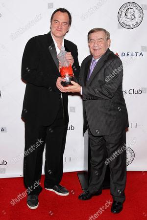 Quentin Tarantino and Freddie Roman