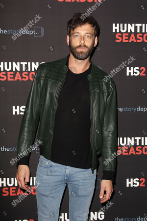 Editorial picture of 'Hunting Season' TV Series 2 premiere, New York, America - 04 May 2015