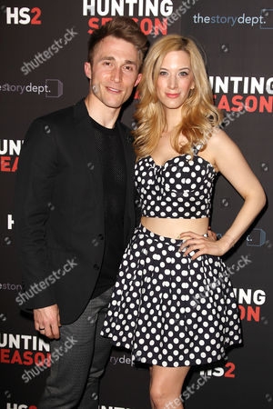 Ben Baur and Ilana Becker