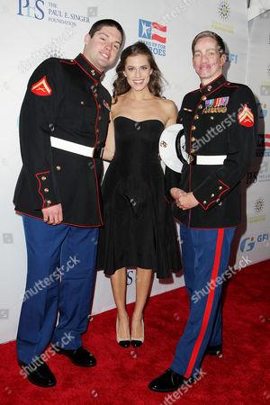 Lance Cpl. Michael Martinez, Allison Williams, Cpl Aaron Mankin, U.S. Marine Corps