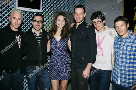 Alan Cumming, David Brind, Emmy Rossum, Adam Salky and Ashley Springer
