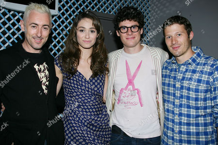 Stock Image of Alan Cumming, Emmy Rossum,  Ashley Springer and Zach Gilford