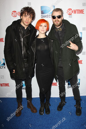 Paramore - Taylor York, Hayley Williams and Jeremy Davis