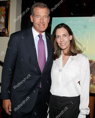 Brian Williams and Jane Williams