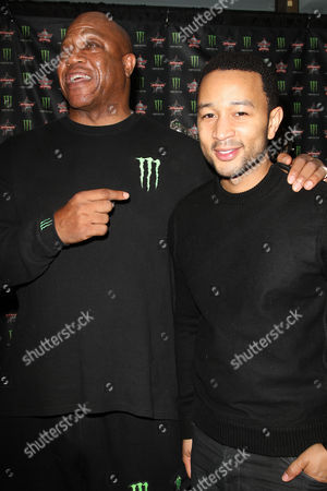 Tommy Lister and John Legend