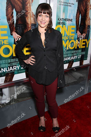 Editorial image of 'One For the Money' film screening, New York, America - 24 Jan 2012