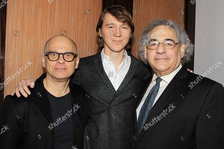 David Lang, Paul Dano and Steve Gilula