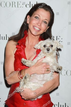 Wendy Diamond and Lucky the dog