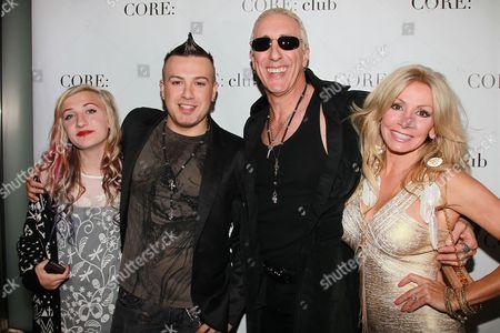 Cheyenne Snider, Jesse Blaze Snider, Dee Snider and Suzette Snider