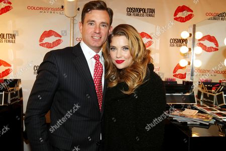 Stock Photo of Brian Whiting and Ashley Benson