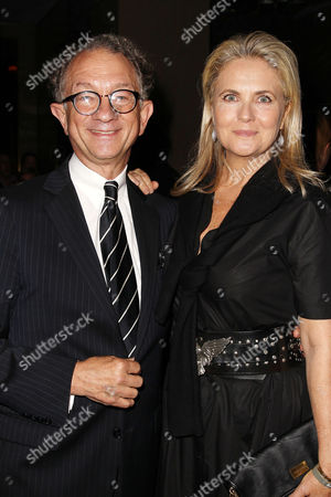 William Ivey Long and Cornelia Guest