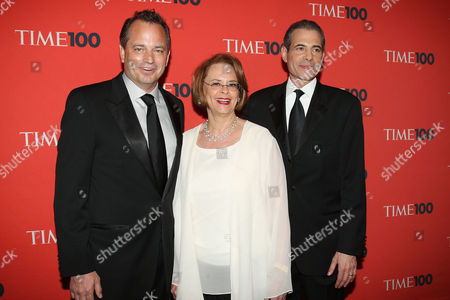 Mark Ford (President TIME Inc.), Ann S Moore (Chair and CEO TIME Inc.) and Rick Stengel (Managing Editor TIME Magazine)