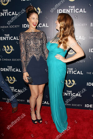 Amanda Crew and Erin Cottrell