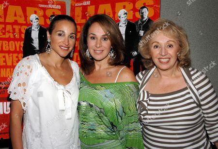 Stock Photo of Elaina Scotto, Rosanna Scotto and Marion Scotto