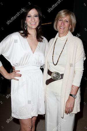 Ann Shoket (Editor-in-chief of Seventeen Magazine) and Jayne Jamison (Publisher Seventeen Magazine)