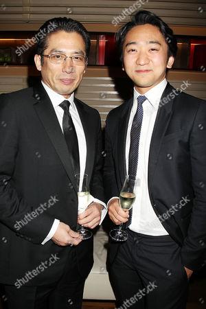 Hiroyuki Sanada and Tanroh Ishida