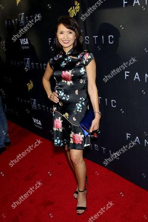 Editorial photo of 'Fantastic Four' film premiere, New York, America - 04 Aug 2015