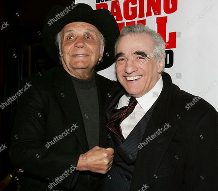 Jake LaMotta and Martin Scorsese