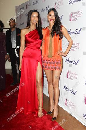 Padma Lakshmi and Ujjwala Raut
