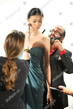 Christo (Hair Stylist) with model