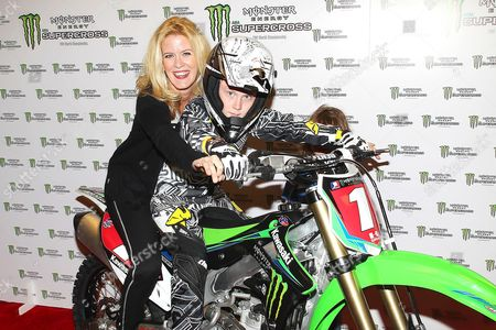 Editorial picture of Monster Energy Supercross World Championship, East Rutherford, America - 26 Apr 2014