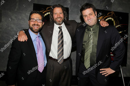 Stock Photo of Seth Kramer, Daniel A. Miller and Jeremy Newberger