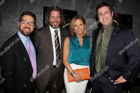 Katie Couric, Seth Kramer, Daniel A. Miller and Jeremy Newberger