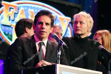 Ben Stiller and Nancy Jarecki