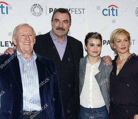 Len Cariou, Tom Selleck, Sami Gayle and Amy Carlson
