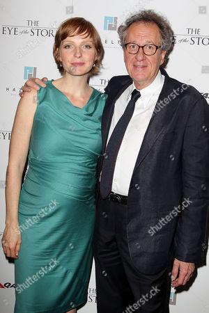 Alexandra Schepisi and Geoffrey Rush