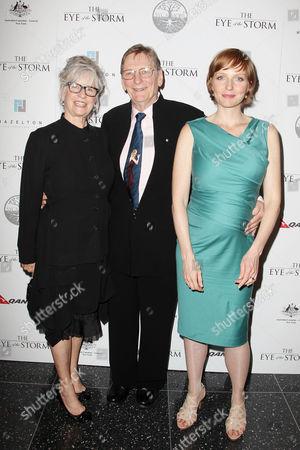 Mary Schepisi, Fred Schepisi and Alexandra Schepisi