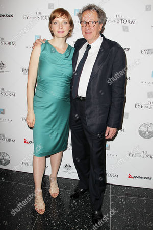 Editorial image of 'The Eye of the Storm' film premiere, New York, America - 04 Sep 2012