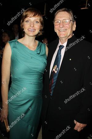 Alexandra Schepisi and father Fred Schepisi